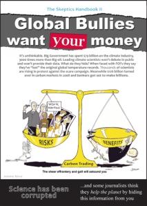 Global bullies want your money